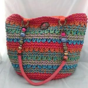 Capello Strawworld Bag Colorful